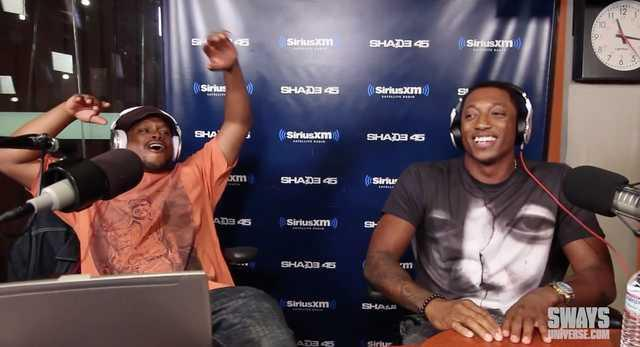 "Christian Rapper Lecrae ""Five Fingers Of Death"" Freestyle On Sway In The Morning"
