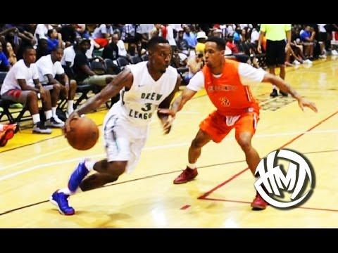 Brandon Jennings Drops 57 Points At Nike Drew League