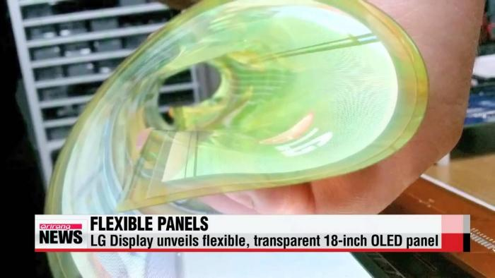 LG Has A 18-Inch Fully Flexible OLED Display