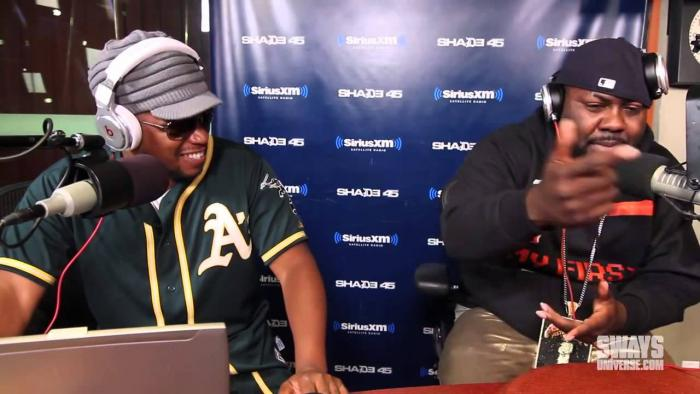 """Mistah FAB """"5 Fingers Of Death"""" Freestyle [Sway In The Morning]"""