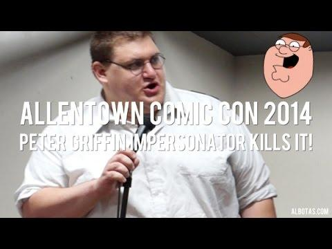 "Real Life ""Family Guy"" Peter Griffin"