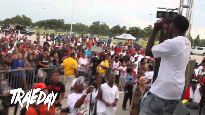 """Trae Tha Truth """"Trae Day"""" Event For The Kids Of Houston"""