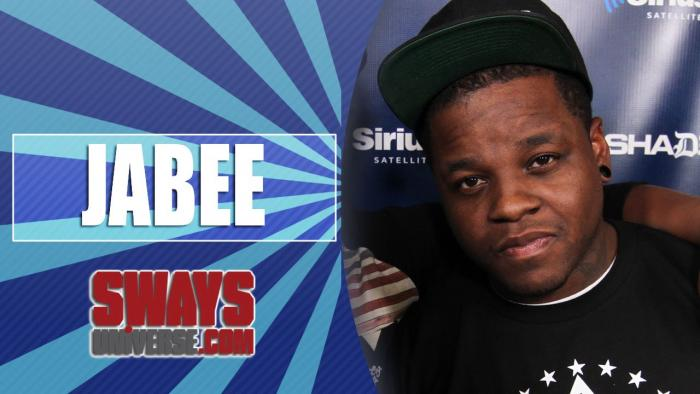 """Jabee Freestyles on """"Sway In The Morning"""""""