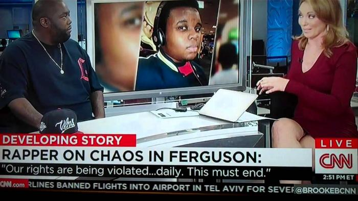 Killer Mike Speaks On The Mike Brown Shooting On CNN