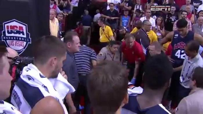 Paul George Suffers A Horrific Broken Leg During Team USA Scrimmage