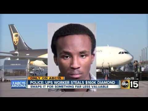 Arizona UPS Worker Steals $160K Diamond & Trades It For $20 Worth Of Marijuana