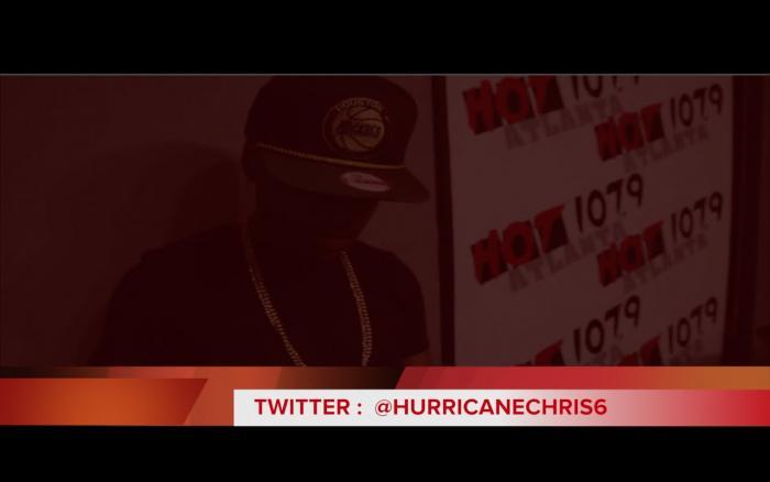 """Hurricane Chris """"I'm Back!"""" Freestyle On Atlanta's Hot 107.9"""
