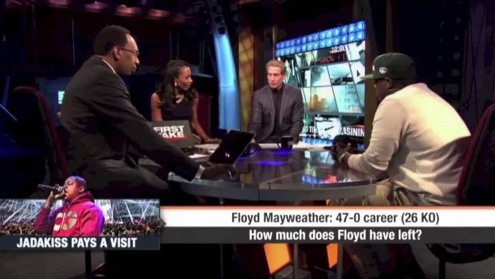 Jadakiss On ESPN's First Take Debate Desk
