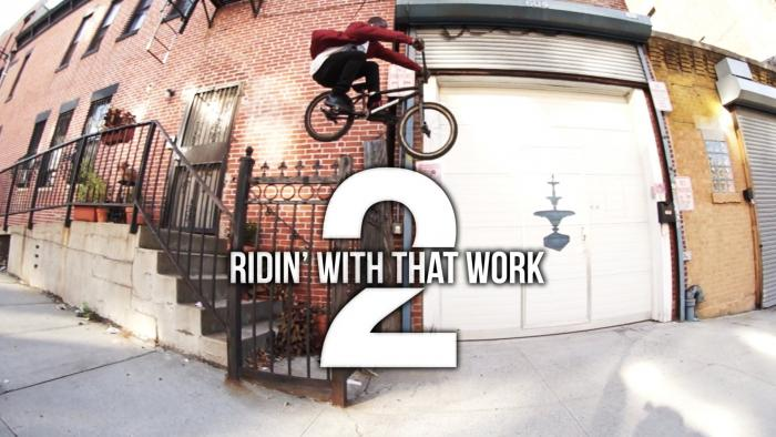 """Nigel Sylvester (NYC BMX Street Rider) """"Ridin' With That Work 2″ Feat. Pharrell Williams"""