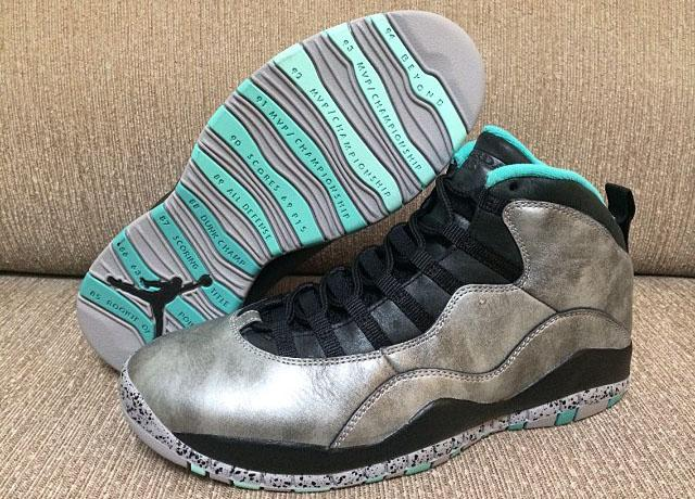 Air Jordan 10 Remastered Retro 'Lady Liberty'