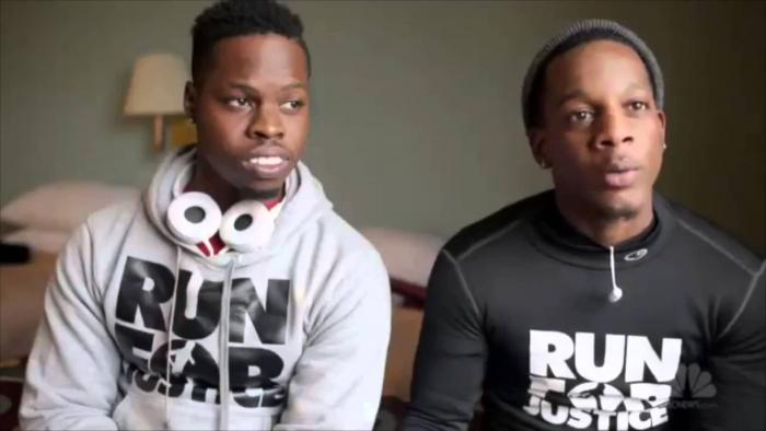 Two Men Run 550 Miles From Atlanta To Michael Brown's Memorial In Ferguson