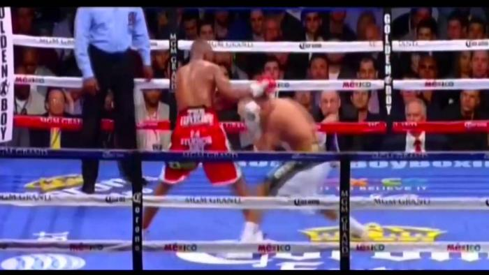 Boxer Amir Khan Shows Off His His Superior Speed & Footwork
