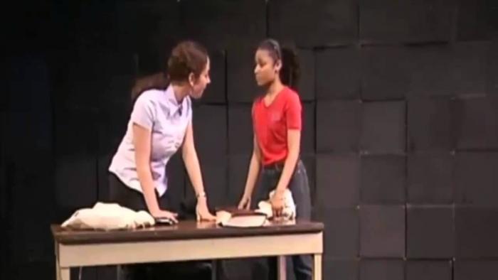 Nicki Minaj Acting In High School