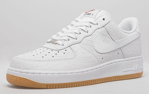 Nike Air Force 1 Low – White Croc/Gum [VMG Approved]