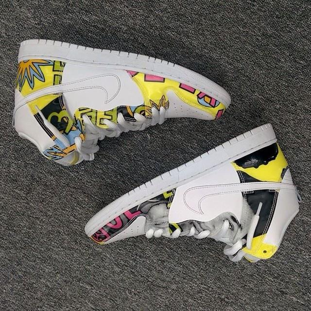 "Nike SB Dunk High ""De La Soul II"""