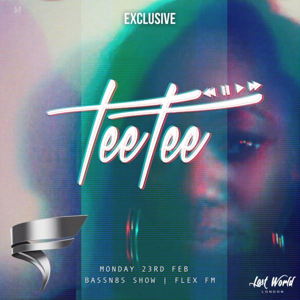 DJ TeeTee – FlexFM Bass&8s Guest Mix (February Edition)
