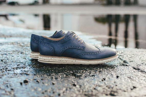 Cole Haan Lunergrand Wingtip – Berkeley Blue
