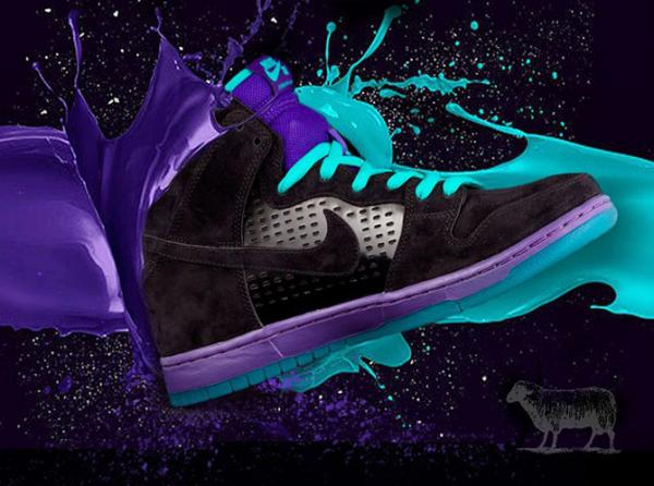 Nike SB Borrows the Jordan 5 'Grape' Look