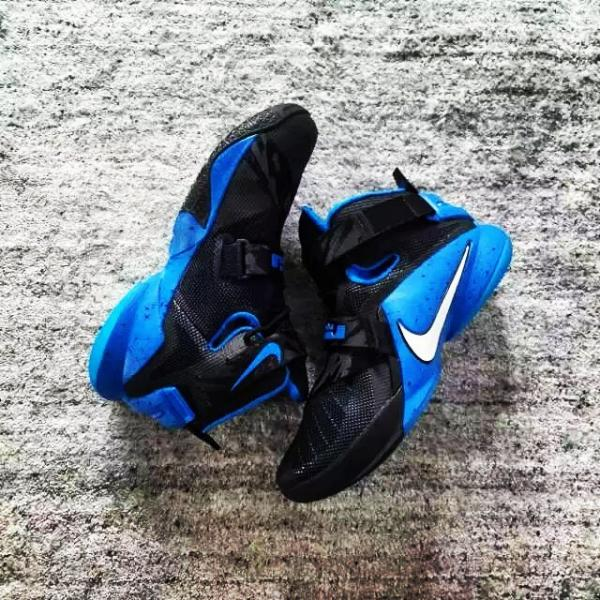 Nike LeBron Soldier 9 Black Blue