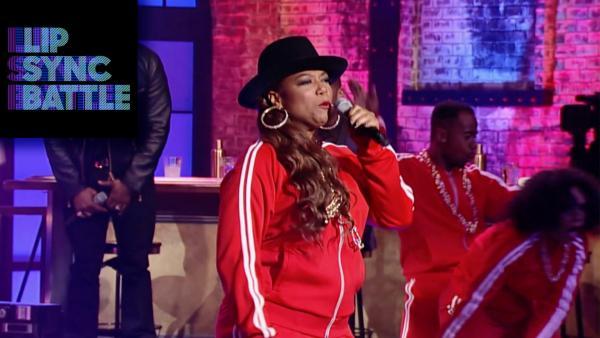 Queen Latifah Rocks the Bells on Lip Sync Battle
