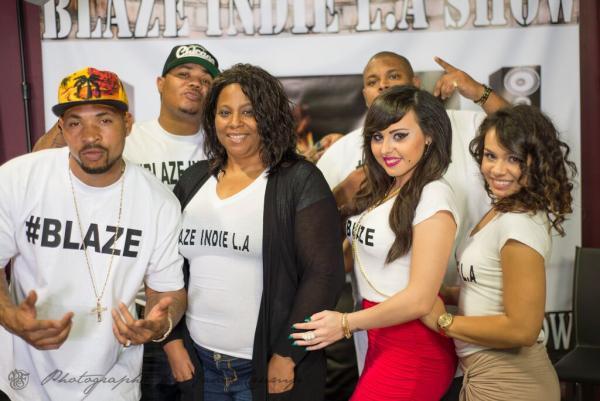 "Blaze Indie L.A. Show : Sounds Of Blackness ""Black Lives Matter; No Justice No Peace"""