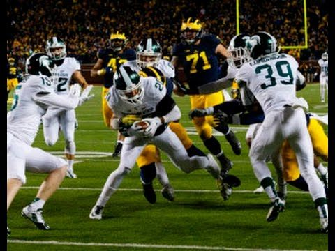 Michigan State Spartans Stun The Michigan Wolverines With Final Play Fumble Return