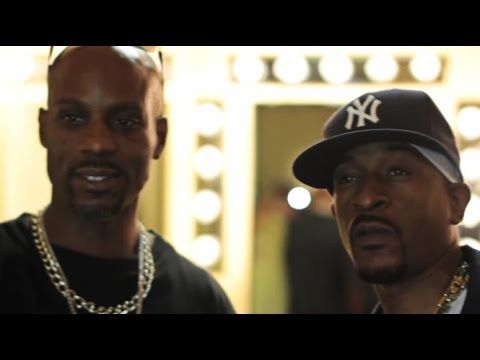 DMX Hype As Hell When He Meets Rakim For The First Time