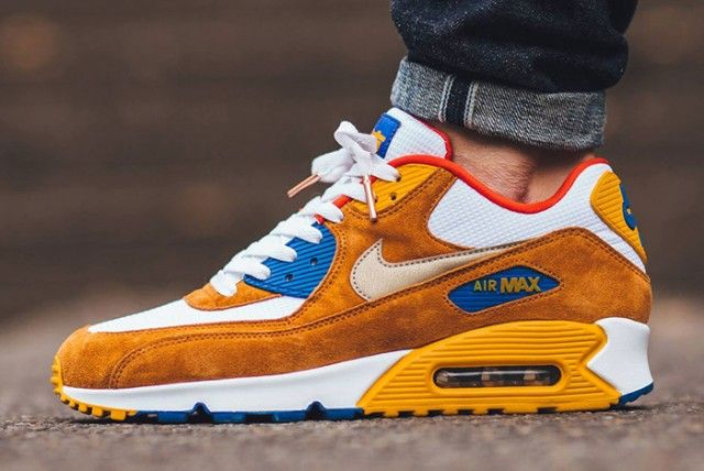 Nike-Air-Max-90-Premium-Curry-1-640×428