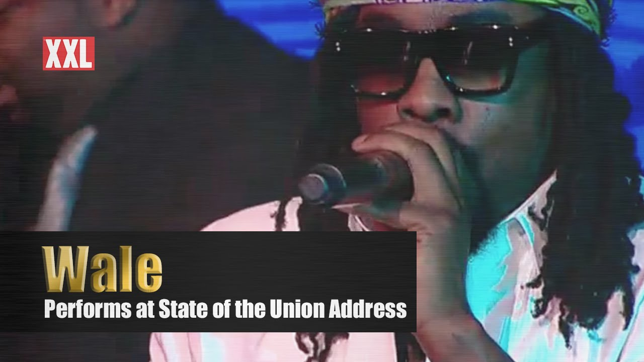 Wale Performs at President Obama's Final State of the Union Address