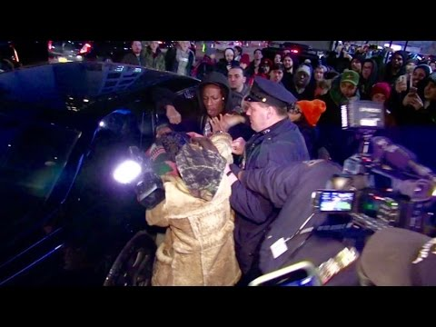 Joey Bada$$ Fights A Camera Man
