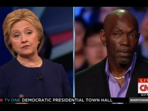 Former Death Row Inmate Confronts Hillary Clinton About Death Penalty Stance