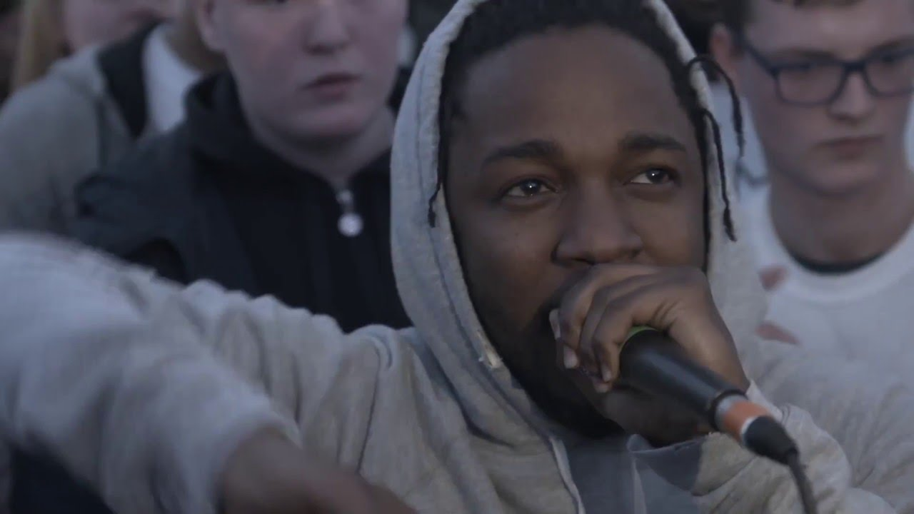 Kendrick Lamar Surprises Young Musicians In The UK & Participates In A Cypher With Them