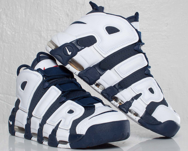 "Nike Air More Uptempo ""Olympic"" Returns"
