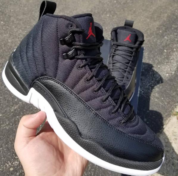 Air Jordan 12 Black Nylon