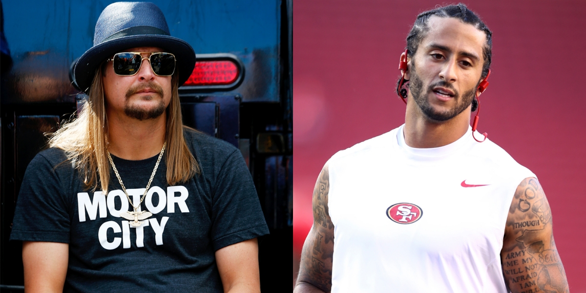 Kid Rock Says F*ck Colin Kaepernick