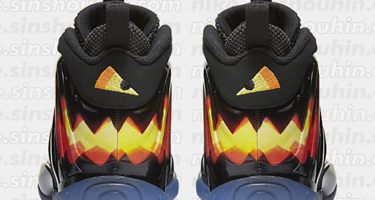 Graphic Nike Foamposites Releasing for Halloween