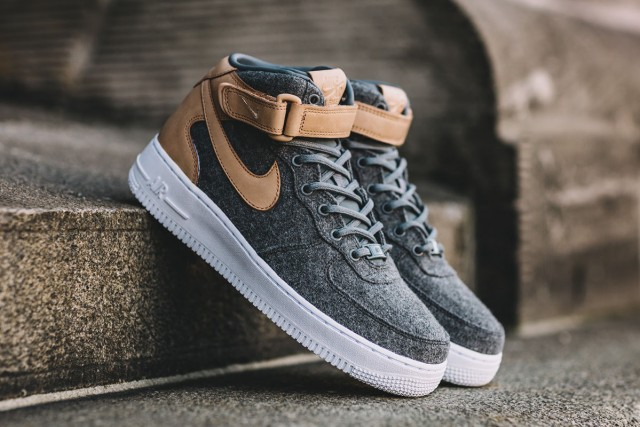 This Nike Air Force 1 Mid Is Perfect For Autumn