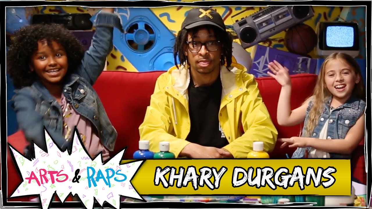 Khary Fields Questions From The 'Arts & Raps' Kids