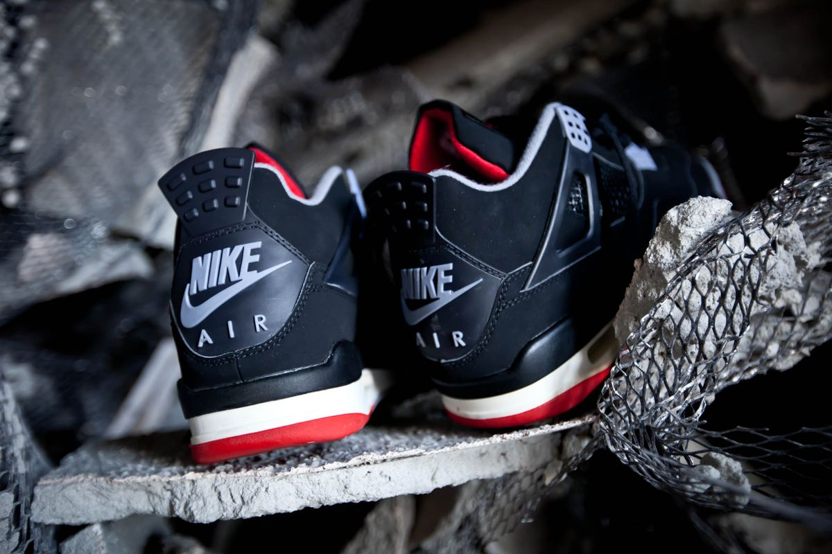 Air Jordan 4 De Large Et 2016 Rap