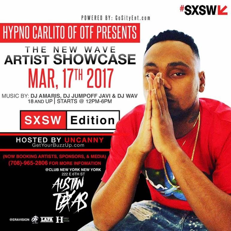 Hypno Carlito Presents New Wave Stage At SXSW 2017
