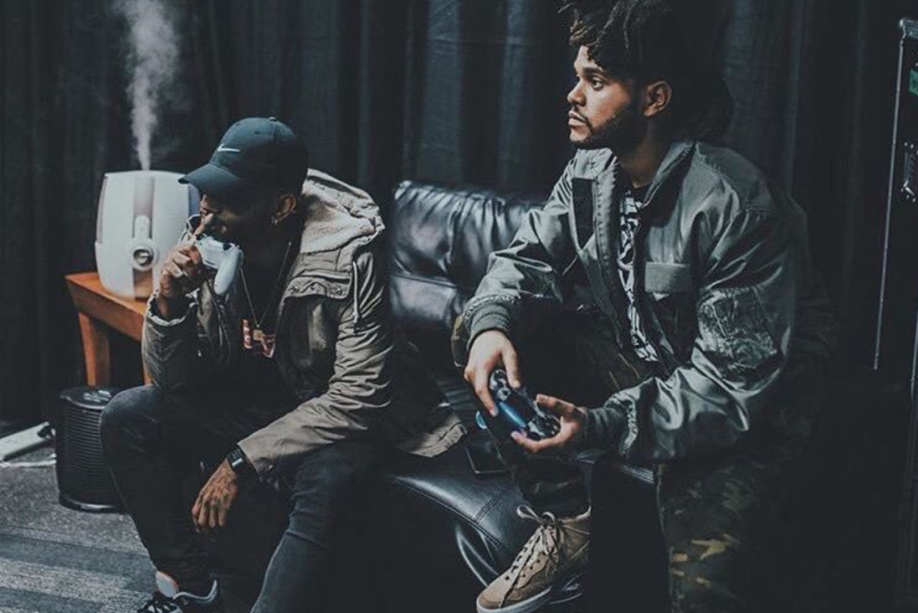 Could The Weeknd & Bryson Tiller Be Up To Something?