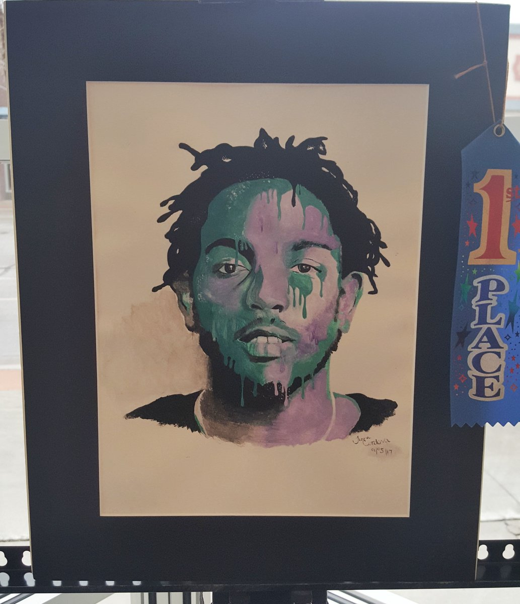 Kendrick Lamar Painting to Hang in U.S. Capitol   Read More: Kendrick Lamar Painting to Hang in U.S. Capitol