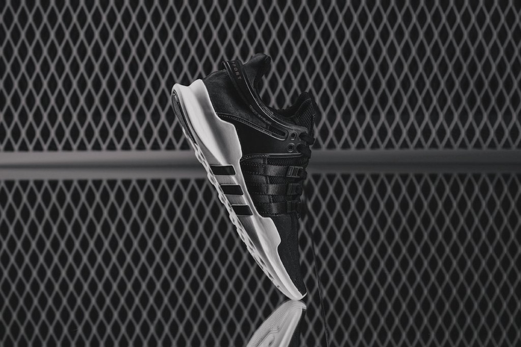 "The adidas Originals EQT Support ADV Gets Released in a Premium ""Milled Leather"" Version"