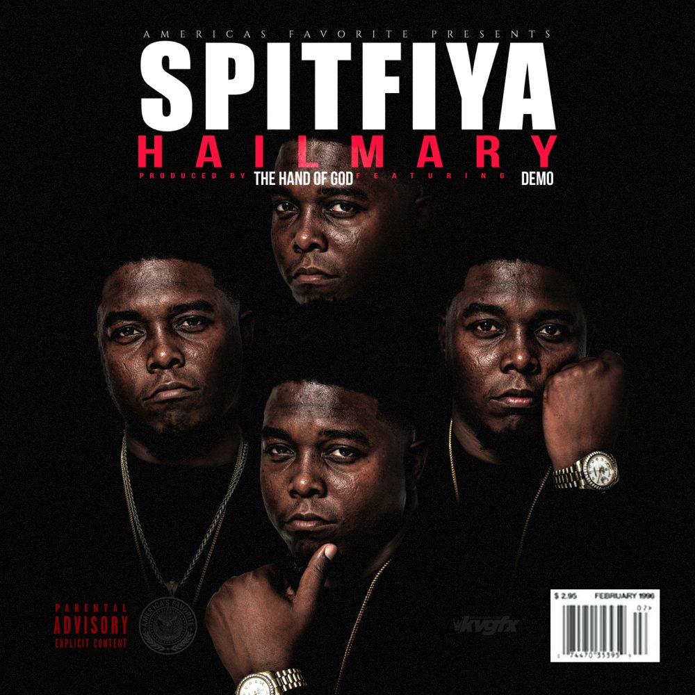 "Spitfiya Pays Homage To Tupac Shakur With ""Hail Mary"" Remake"