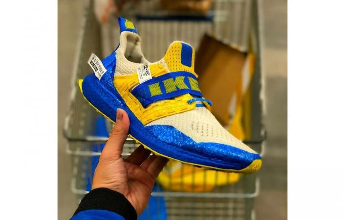 Is This IKEA x adidas UltraBOOST Custom The Wave?