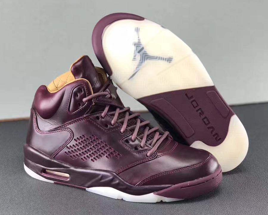 """Air Jordan 5 Premium """"Wine"""""""