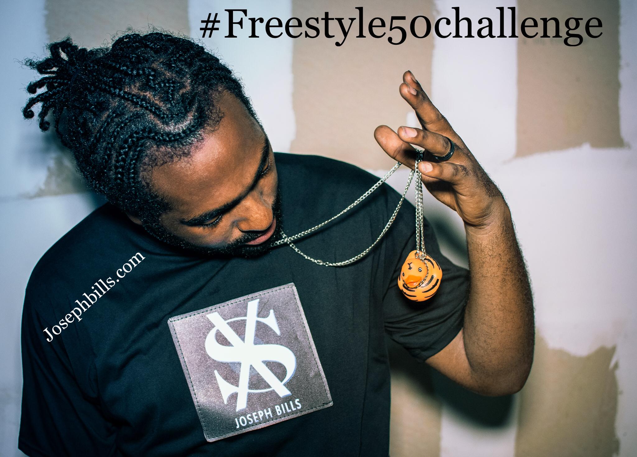 New Video: Joseph Bills – 50 Challenge Freestyle | @josephbills