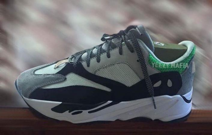 First Look: Adidas Yeezy Wave Runner 700 'Tan/Green'