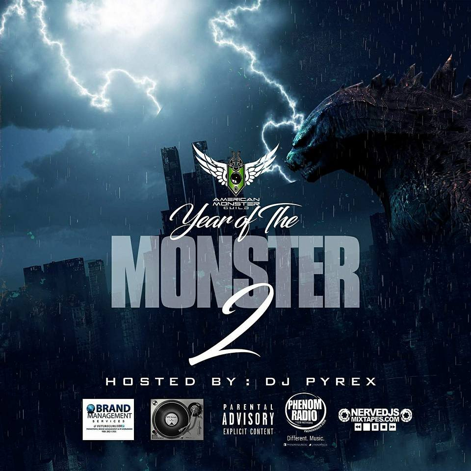 New Mixtape: American Monster Guild – Year Of The Monster 2 | @monsterguild @DjPyrex