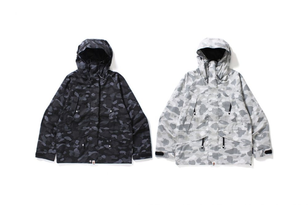 "BAPE Debuts ""DOT CAMO"" on a New Military-Inspired Collection"